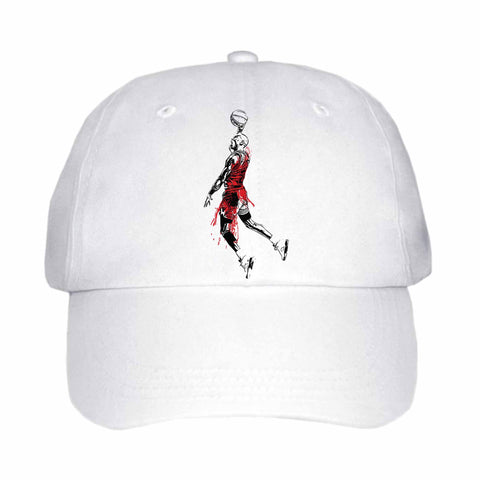 Michael Jordan White Hat/Cap