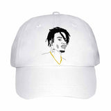 Playboi Carti White Hat/Cap