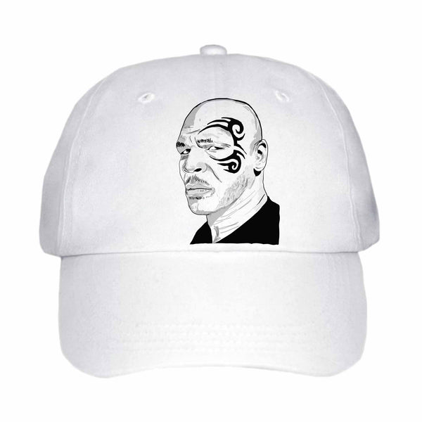 Mike Tyson White Hat/Cap ,Babes & Gents, Ottawa, www.babesngents.com