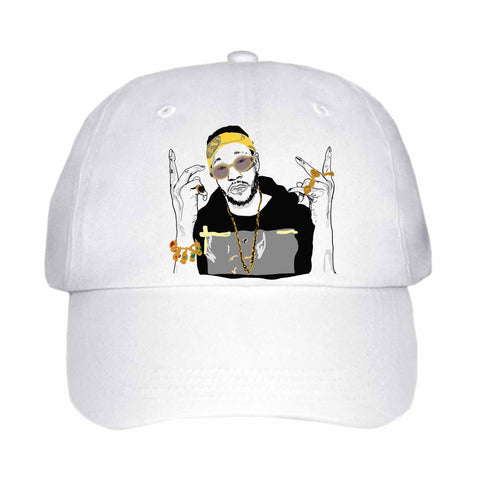 2 Chainz two White Hat/Cap