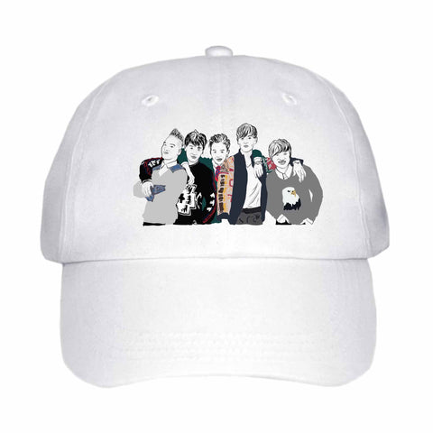 Big Bang White Hat/Cap
