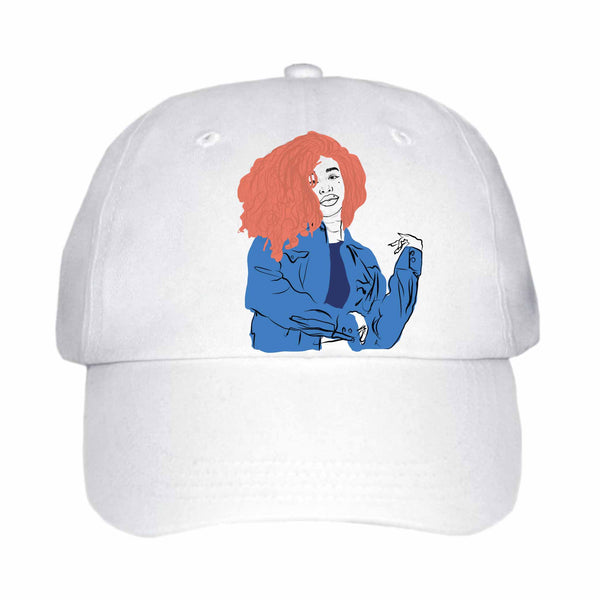 SZA White Hat/Cap