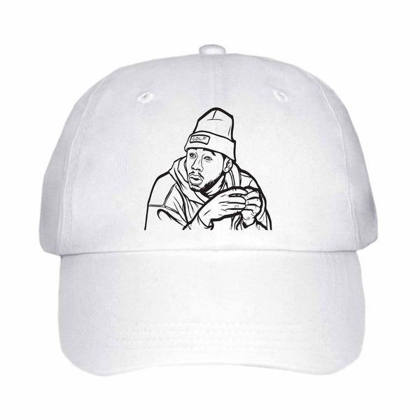 Tyler The Creator Golf White Hat/Cap