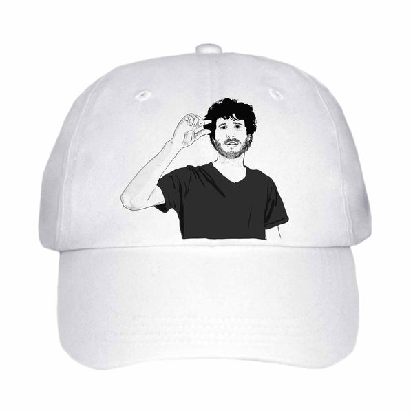 Lil Dicky White Hat/Cap // Babes & Gents // www.babesngents.com