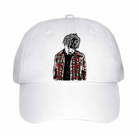 Juice Wrld White Hat/Cap