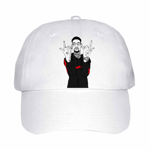 Pnb Rock White Hat/Cap