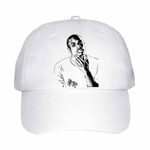 Vince Staples White Hat/Cap