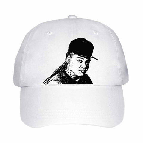 Young M.A. White Hat/Cap