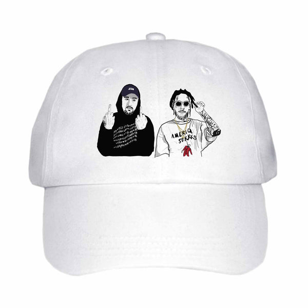 $uicideboy$ Suicide Boys White Hat/Cap