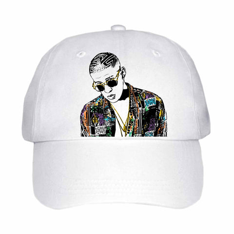 Bad Bunny White Hat/Cap