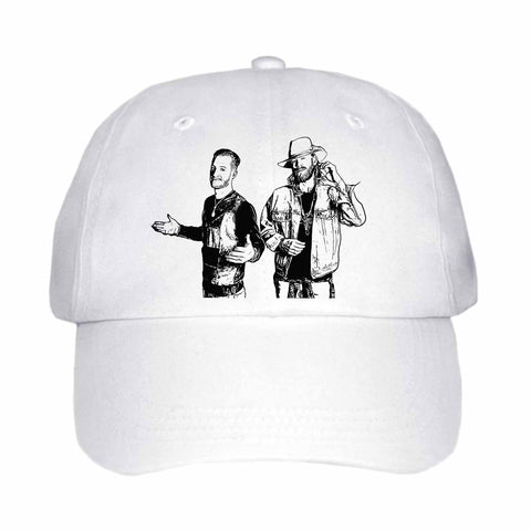 Florida Georgia Line White Hat/Cap