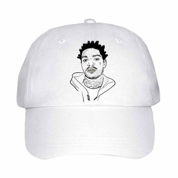 Kodak Black 2 White Hat/Cap