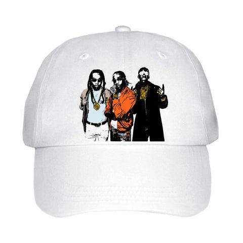 Migos 2 White Hat/Cap