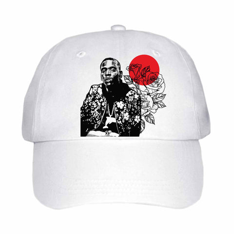 Young Dolph White Hat/Cap