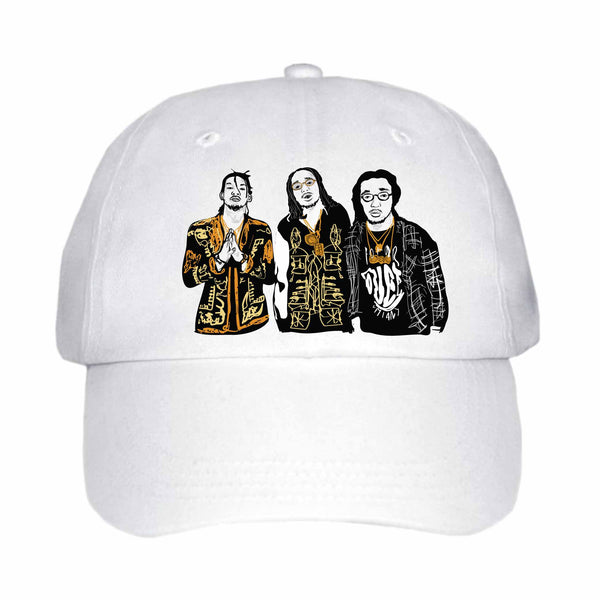 Migos Quavo Offset Takeoff White Hat/Cap