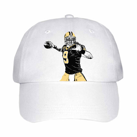 Drew Brees White Hat/Cap