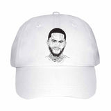 Dave East White Hat/Cap