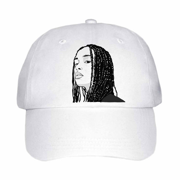 Jorja Smith White Hat/Cap // Babes & Gents // www.babesngents.com