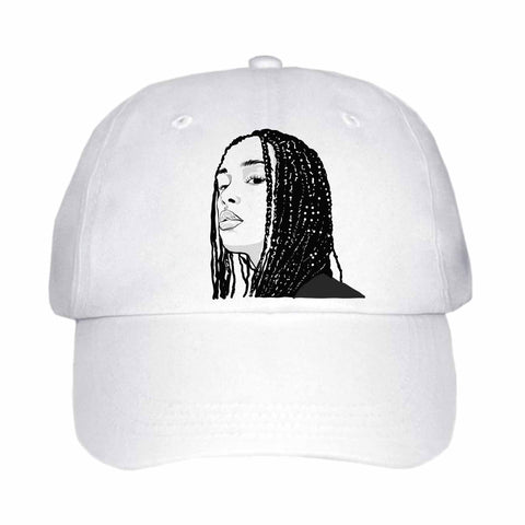 Jorja Smith White Hat/Cap