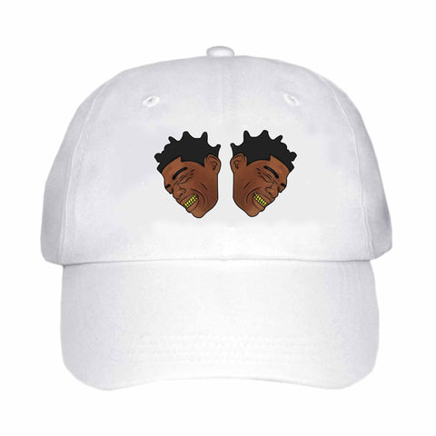 Kodak Black Color White Hat/Cap