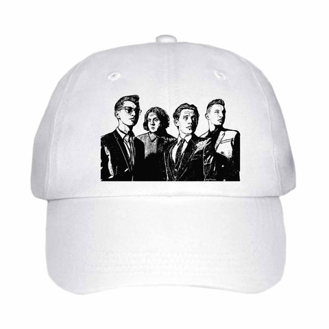 Arctic Monkeys White Hat/Cap