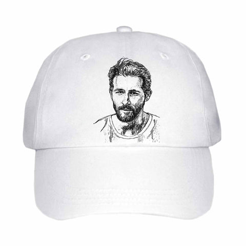 Ryan Reynolds White Hat/Cap