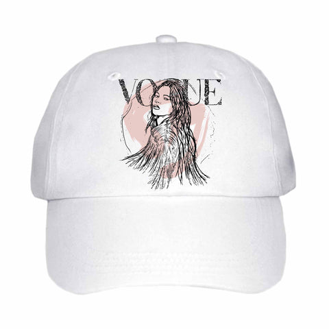 Kate Moss White Hat/Cap