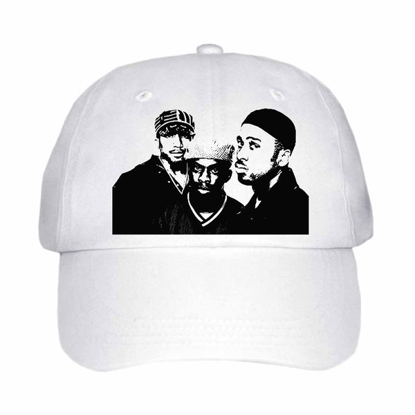 A Tribe Called Quest White Hat/Cap, Babes & Gents, Ottawa, www.babesngents.com