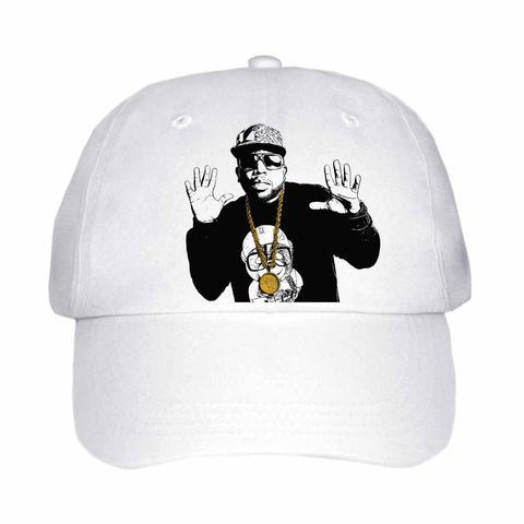 Big Boi White Hat/Cap