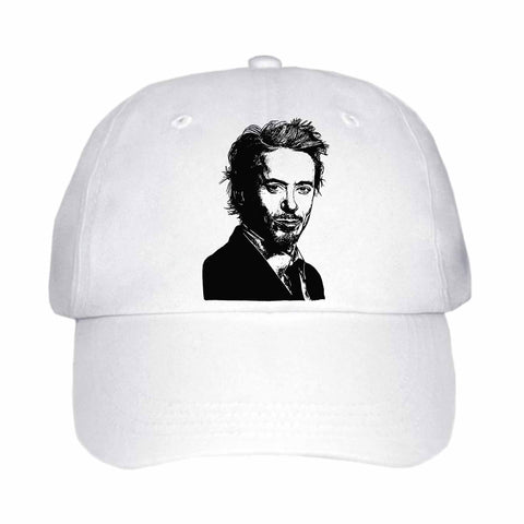 Robert Downey, Jr. Robert Downey Jr White Hat/Cap