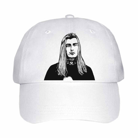 Ghostemane White Hat/Cap