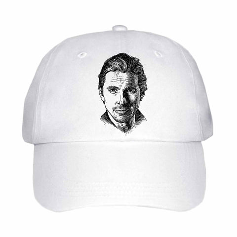 Christian Bale White Hat/Cap