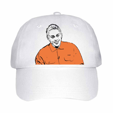 Pete Davidson White Hat/Cap