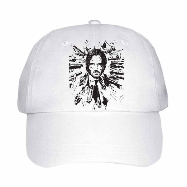 Keanu Reeves White Hat/Cap, Babes & Gents,  www.babesngents.com