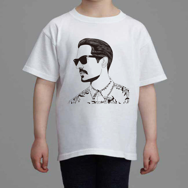 G-Eazy Kids White Tee (Unisex) // Geazy Young Gerald I mean it Tumblr Girls When its dark out // Babes & Gents // www.babesngents.com