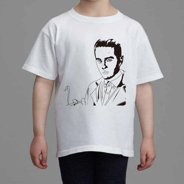 G-Eazy Kids White Tee (Unisex) 2 // Geazy Young Gerald I mean it Tumblr Girls When its dark out // Babes & Gents // www.babesngents.com