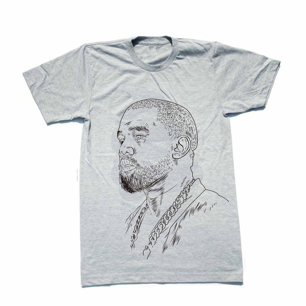 Kanye West Yeezy Heather Grey Tee (Unisex) // swish yeezus tour allday // Babes & Gents // www.babesngents.com