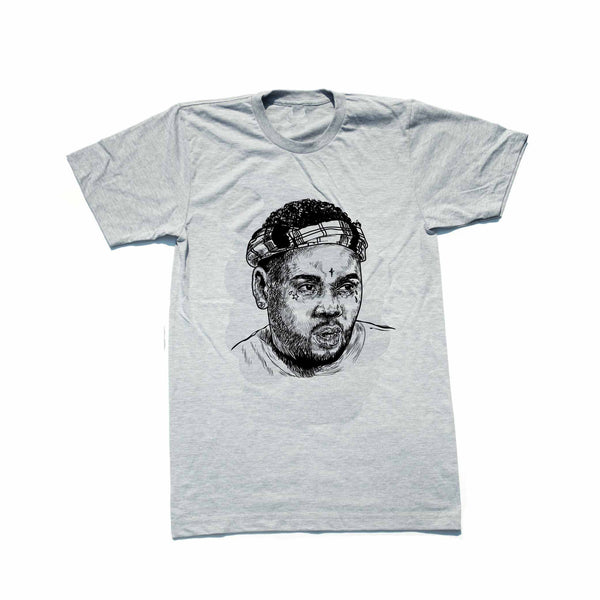 Kevin Gates BWA Grey Tee (Unisex) // T-shirt // Babes & Gents // www.babesngents.com