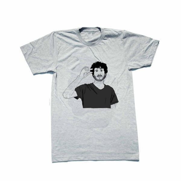 Lil Dicky Grey Tee (Unisex) // T-shirt // Babes & Gents // www.babesngents.com