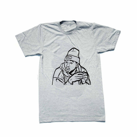 Tyler The Creator Golf Grey Tee (Unisex)