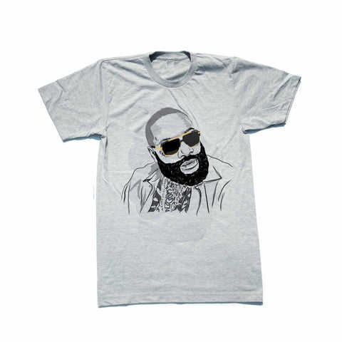 Rick Ross Grey Tee (Unisex)