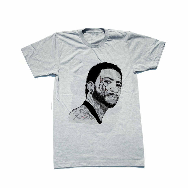 Gucci Mane Grey Tee (Unisex) // T-shirt // Babes & Gents // www.babesngents.com