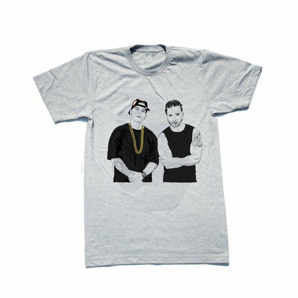 Luis Fonsi and Daddy Yankee Despacito Grey Tee (Unisex) // T-shirt // Babes & Gents // www.babesngents.com