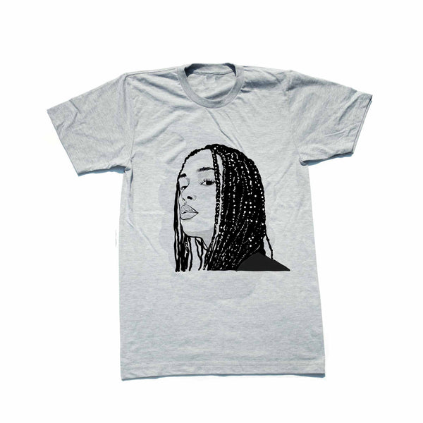 Jorja Smith Grey Tee (Unisex) // T-shirt // Babes & Gents // www.babesngents.com