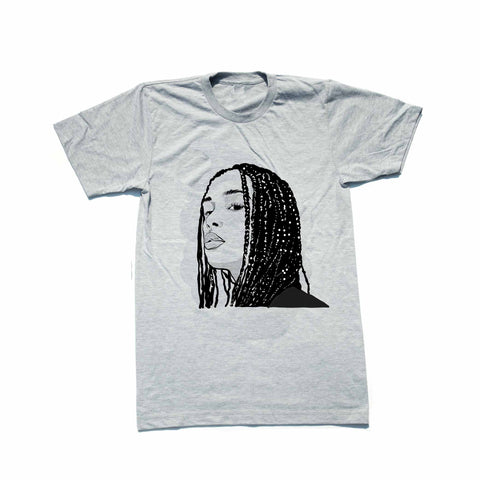 Jorja Smith Grey Tee (Unisex)