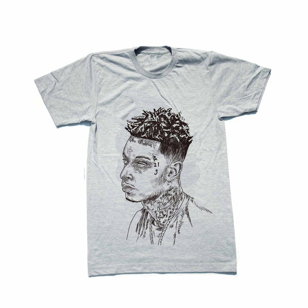 21 Savage Mode Grey Tee (Unisex) // T-shirt // Babes & Gents // www.babesngents.com