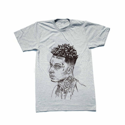 21 Savage Mode Grey Tee (Unisex)