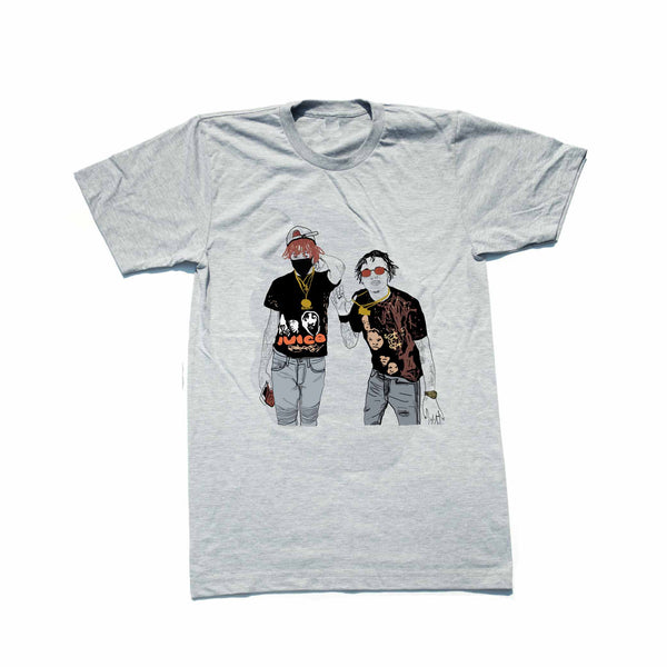 Famous Dex and Rich the Kid Grey Tee (Unisex) // T-shirt // Babes & Gents // www.babesngents.com