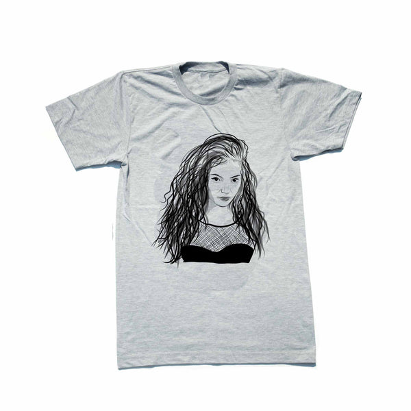 Lorde Grey Tee (Unisex) // T-shirt // Babes & Gents // www.babesngents.com