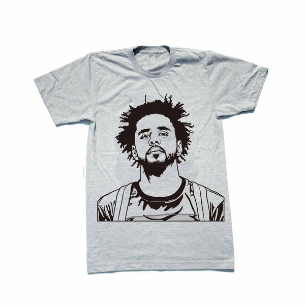 J. Cole Heather Grey Tee // T-shirt // Babes & Gents // www.babesngents.com